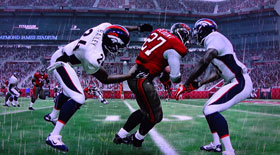 Madden NFL 12 - jumping catch in traffic.