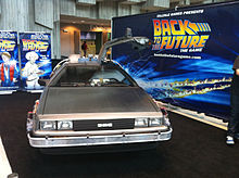 Back to the Future: The Game - DeLorean convention display