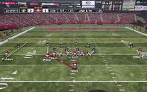 Madden NFL 12 - run play art