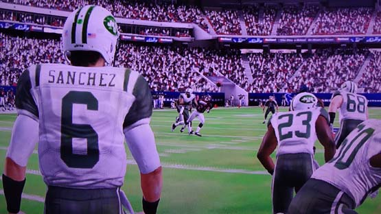 Madden NFL 13 - Sanchez interception