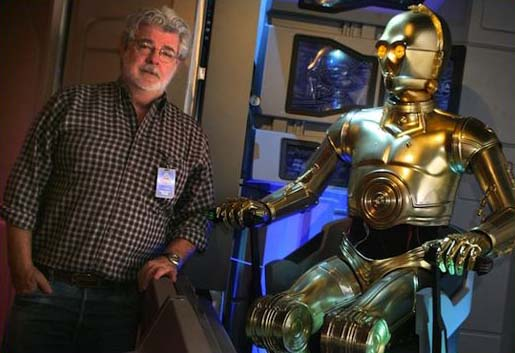 George Lucas with C-3P0