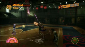 Lollipop Chainsaw - Zombie Basketball