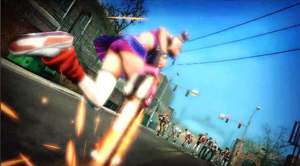 Lollipop Chainsaw - charge!