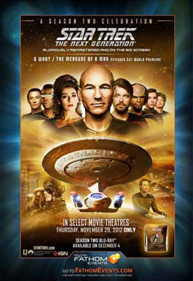 Star Trek: The Next Generation season 2 celebration event poster