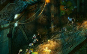Trine - thief triple arrow