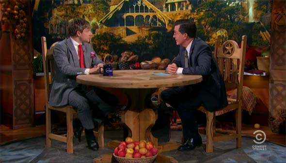 Colbert Report - Hobbit week interview with Martin Freeman