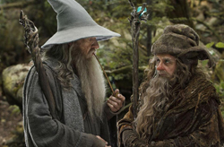 The Hobbit: An Unexpected Journey - Gandalf and Radagast