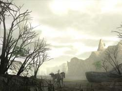 Shadow of the Colossus - landscape