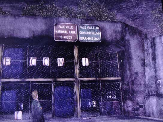 Silent Hill 2 - road sign'