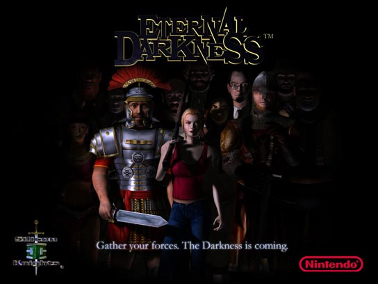 Eternal Darkness promo poster'