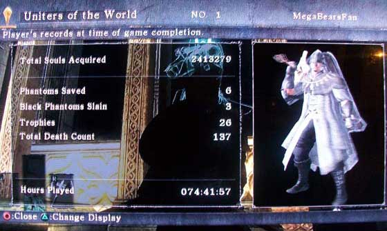 Demon's Souls - I'm a 'Uniter of the World'!