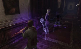 Silent Hill Downpour - Doll enemy and her ghosts