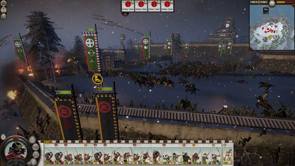 Shogun 2 - storming the walls
