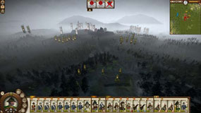Shogun 2 Fall of the Samurai - bringing reinforcing armies into battle