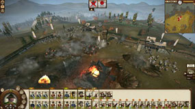 Shogun 2 Fall of the Samurai - naval bombardment in battle