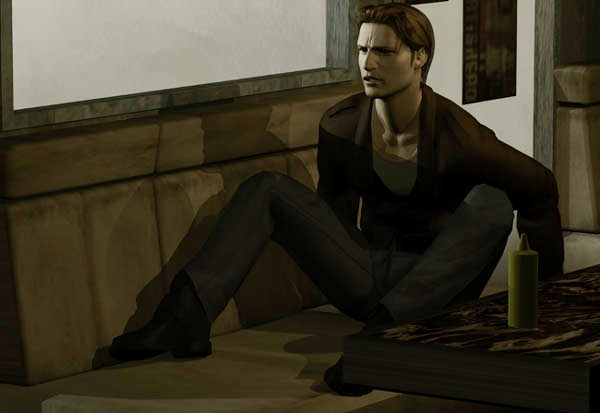 Silent Hill - Harry wakes up in diner