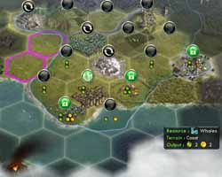 Civilization V Gods & Kings - sea resource priority bug
