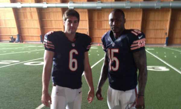 Chicago Bears - Cutler and Marshall