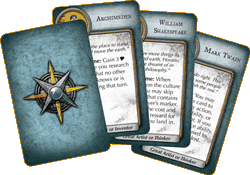 Civilization Fame and Fortune - Great People cards