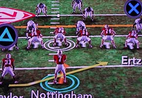 NCAA Football 13 - Read Option blocking