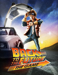 Back to the Future: The Game cover art