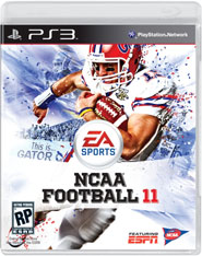 NCAA Football 11 cover (PS3)