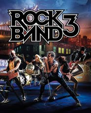 Rock Band 3 cover art