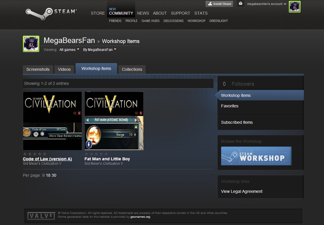 how to download civ 5 mods from steam workshop