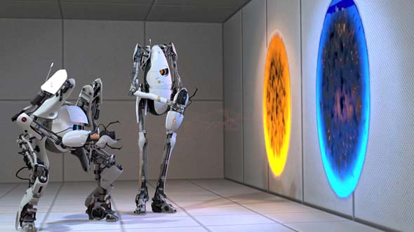Portal 2 - co-op characters