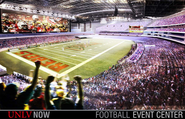 Proposed UNLV Now football stadium
