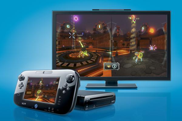 Wii U - multi-screen game