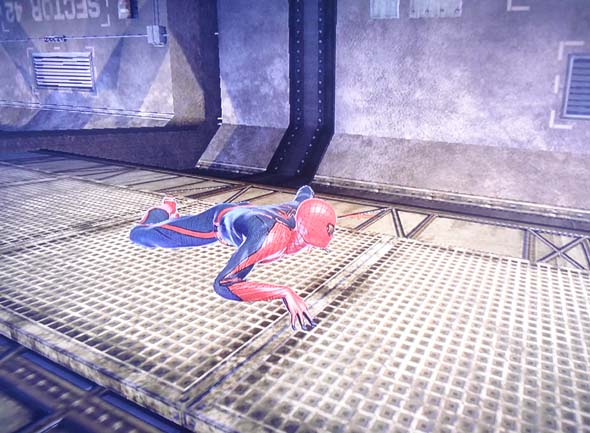 Amazing Spider-Man game - wall-crawling