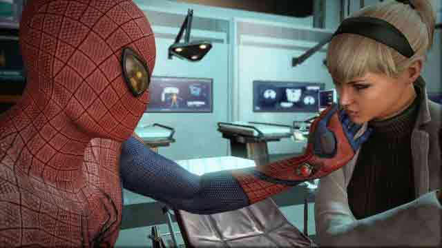 Amazing Spider-Man game - Peter and Gwen