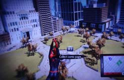 Amazing Spider-Man game - web swinging without physics