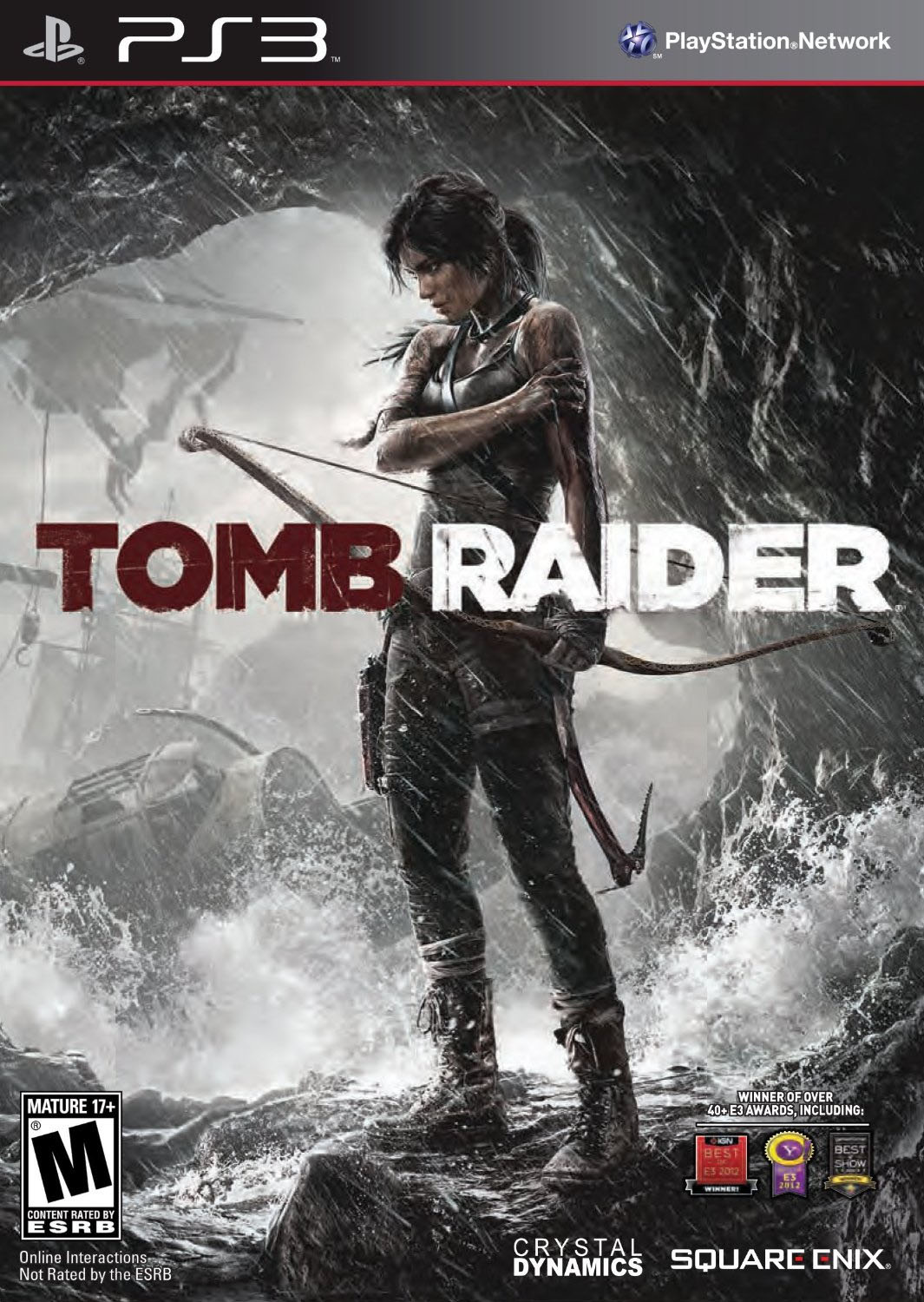 tomb raider drags players through the mud for about six