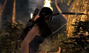 Tomb Raider - hair physics
