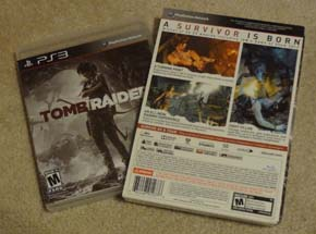 Tomb Raider - limited edition box