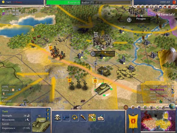 Civilization IV - strategy layer