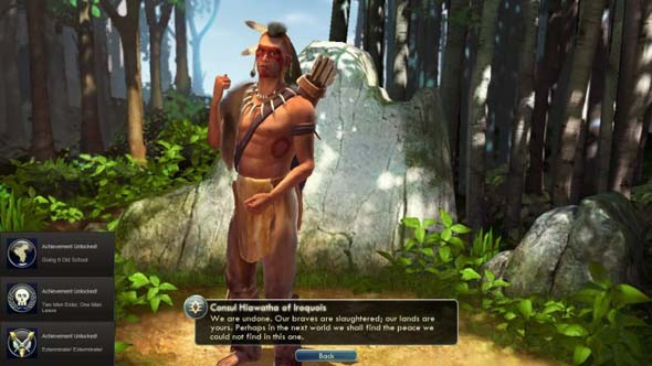 Civilization V - leader Hiawatha