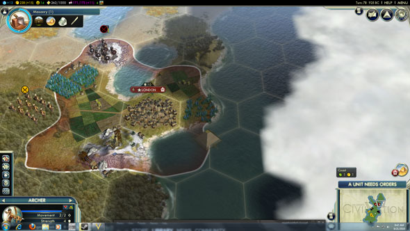 Civilization V - floating pyramids